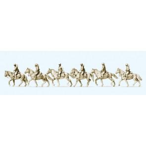 Preiser 16617 - 1:87 Cavallerie te paard Duitse Rijk 1942-45