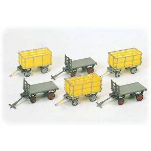 Preiser 17112 - 1:87 Postwagens