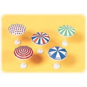 Preiser 17209 - 1:87 5 pcs parasols