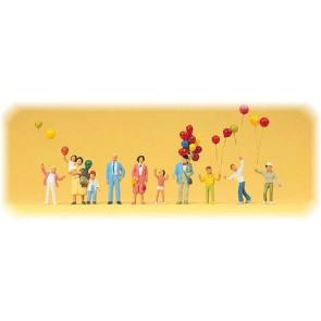 Preiser 24659 - 1:87 Ballonverkauf