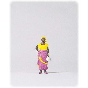Preiser 29047 - 1:87 Afrikaanse vrouw