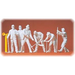 Preiser 45182 - 1:22œ Gleisbauarbeiter. 6 Figuren