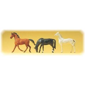 Preiser 65323 - 1:4345 Pferde