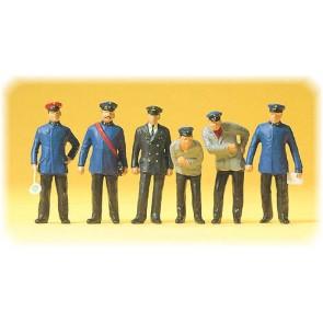 Preiser 65329 - 1:4345 Bahnpersonal 1925-30