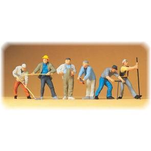 Preiser 65331 - 1:4345 Bauarbeiter