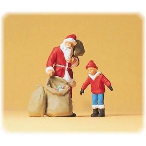 Preiser 65335 - 1:4345 Weihnachtsmann. Kind