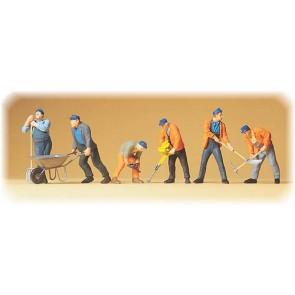 Preiser 65336 - 1:4345 Gleisbauarbeiter