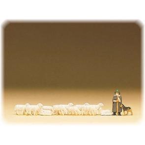 Preiser 79160 - 1:160 Schapenkudde met herder