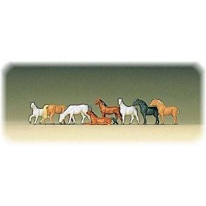 Preiser 88578 - 1:220 Pferde