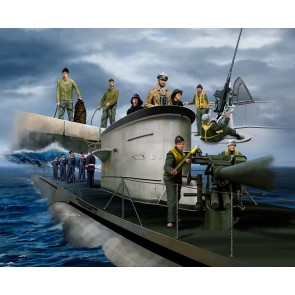 Revell 02525 - GERMAN NAVY CREW WWII