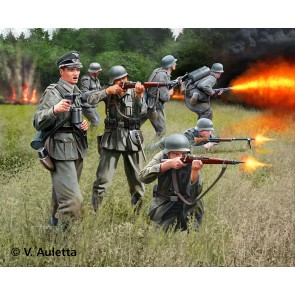 Revell 02630 - GERMAN INFANTRY WWII