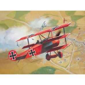 Revell 04116 - Fokker Dr. 1 Triplane_02_03_04_05_06_07
