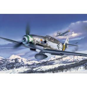 Revell 04665 - Messerschmitt Bf109 G-6_02_03_04_05_06