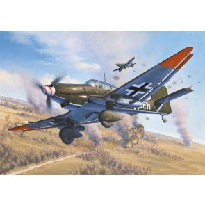 Revell 04692 - Junkers Ju87 GD Tank Buster_02_03_04_05_06_07