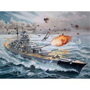 Revell 05040 - Battleship Bismarck_02_03_04_05_06_07