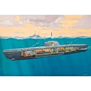 Revell 05078 - U-Boot Typ XXI U 2540 &Interi_02_03_04_05_06_07_08_09_010_011_012_013_014