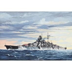 Revell 05098 - Battleship Bismarck_02_03