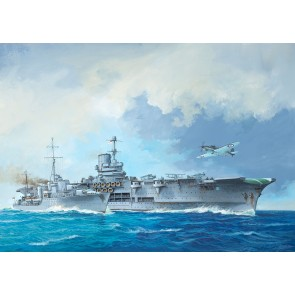 Revell 05149 - HMS Ark Royal & Tribal Class_02_03_04_05_06_07