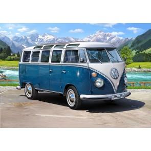 "Revell 07009 - Volkswagen T1 ""Samba Bus""_02_03_04_05_06_07"