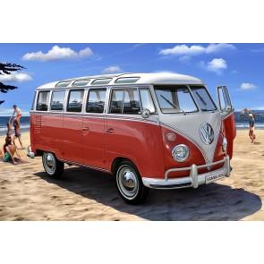 Revell 07399 - VW T1 Samba Bus_02_03_04_05_06_07