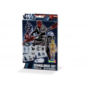 "Revell 30207 - Schablonen-Set ""Star Wars"" II"