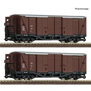Roco 34583 - 2er Set ged.Güterw. ÖBB