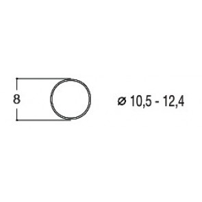 Roco 40069 - Haftrings.10Stk.10,3 bis 12,8m