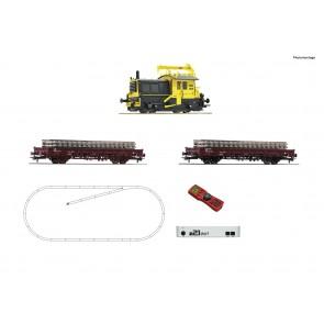 Roco 51333 - z21 Set Diesellok Sik + Bauzug