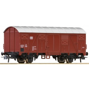 Roco 56067 - Ged. Güterwagen DB, braun