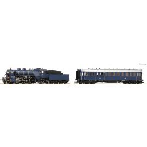 Roco 61473 - Zugset S36+Salonwag Kbay AC-S