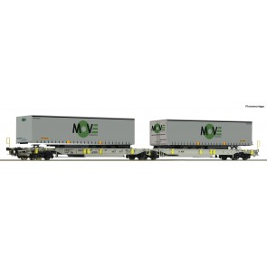 Roco 67404 - Doppeltwg.T2000 AAE+Move