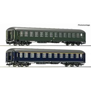 Roco 74113 - 2-tlg. Set: Schnellzugwagen, Museum Darmstadt-Kranichstein