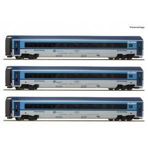 Roco 74139 - 3er Set Railjet CD DC