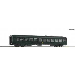 Roco 74356 - UIC-Y-2.Kl.-Wagen grün