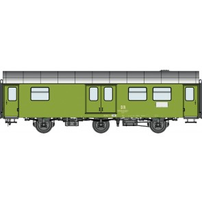 Roco 74455 - Rekowagen Gepäckwagen, DR
