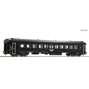 Roco 74516 - Reisezugw. 2.Kl. schwarz SJ