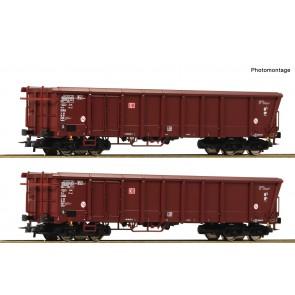 Roco 76014 - 2er Set Rolldachwag. DB-AG