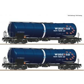Roco 76027 - 2er Set Kesselwag.Zacns Wascos