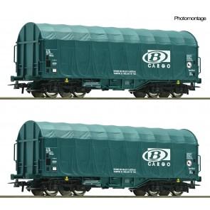 Roco 76071 - 2er Set Schiebeplanenwag. B Ca