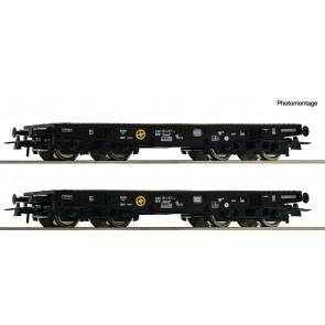 Roco 76080 - 2er Set Schwerlastwag. DB