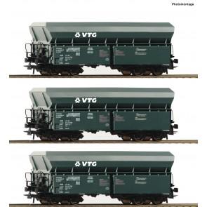 Roco 76092 - 3er Set Selbstentladew. VTG