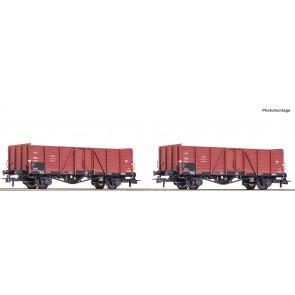 Roco 76104 - 2-tlg. Set: Güterwagen, PKP