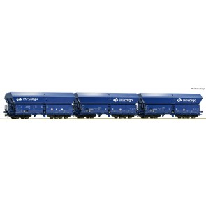 Roco 76133 - 3-tlg. Set: Selbstentladewagen, PKP Cargo