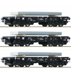 Roco 76159 - 3tlg. Set Schwerlastw. NS