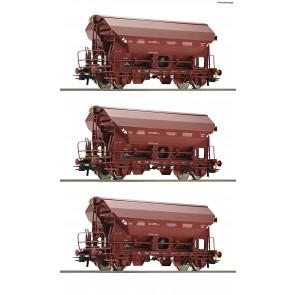 Roco 76179 - 3er Set Güterw. Tds SNCB