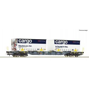 Roco 77341 - Cont.Tragw. SBB+Container