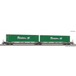 Roco 77398 - Doppeltwg.T3000e+Eucon