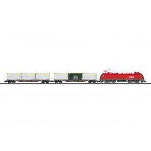 Trix 11133 - Startpackung mit Güterzug