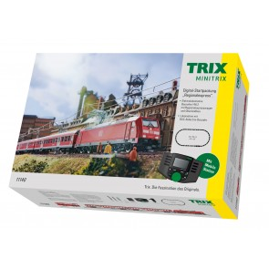 Trix 11140 - Startpackung Personenzug