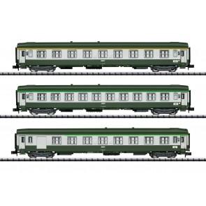 Trix 15372 - Schnellzugwagen-Set Orient-Ex
